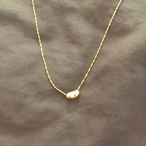 Jewelry - 14K Gold Bean necklace